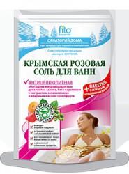 Соль для ванн, Санаторий дома Крымская розовая антицеллюлитная 530 мл