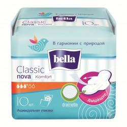 Прокладки женские, Белла нова классик эйр комфорт №10