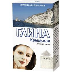 Глина, Крымская очищающая 100 г белая