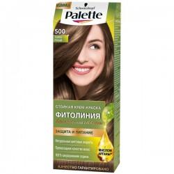 Краска для волос, Палетт Фитолиния 50 мл 500 Темно-русый