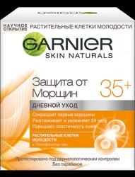 Уход для лица, Гарньер Клетки молодости дневной 35+ защита от морщин 50 мл
