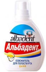 Освежитель для полости рта, Альбадент дыня 35 мл