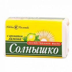 Мыло хозяйственное, Солнышко лимон 140 г