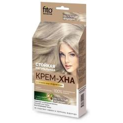 Крем-хна, Индийская в готовом виде с маслами арганы и жожоба 50 мл пепельный блондин