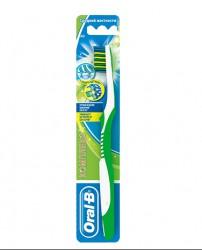 Зубная щетка, Орал-би Комплекс антибактериальная 40 средняя