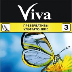 Презервативы, Вива №3 ультратонкие