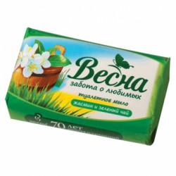Мыло, Весна Хербал жасмин и зеленый чай 90 г