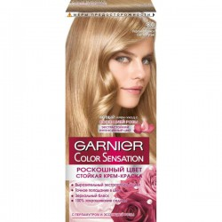 Краска для волос, Гарньер Колор Cенсейшн 8.0 переливающийся светло-русый