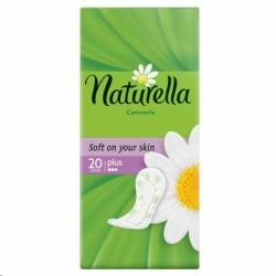 Прокладки женские ежедневные, Натурелла камомайл плюс №20