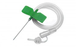 Система-устройство для вливания в малые вены, р. 0.80х19мм №1 тип бабочка с иглой 21g
