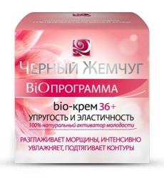 Крем для лица, Черный жемчуг Программа от 36 лет Био упругость и эластичность 50 мл