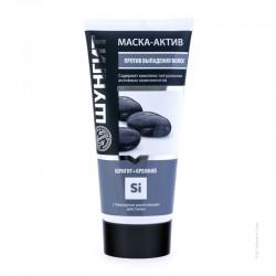Маска-Актив против выпадения волос, Шунгит+Кремний 180 мл
