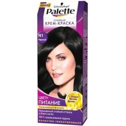 Крем-краска для волос, Палетт 50 мл N1 Черный