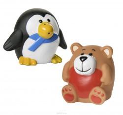Набор игрушек для ванны, Курносики №2 арт. 25080 Зоопарк