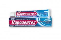 Зубная паста, Пародонтол Антибактериальная защита туба 63 г