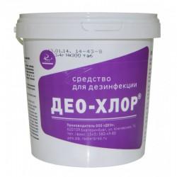 Део-хлор, средство дезинфицирующее табл. 3.4 г №90