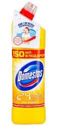 Средство чистящее, Доместос Лимонная свежесть 24 часа 1 л